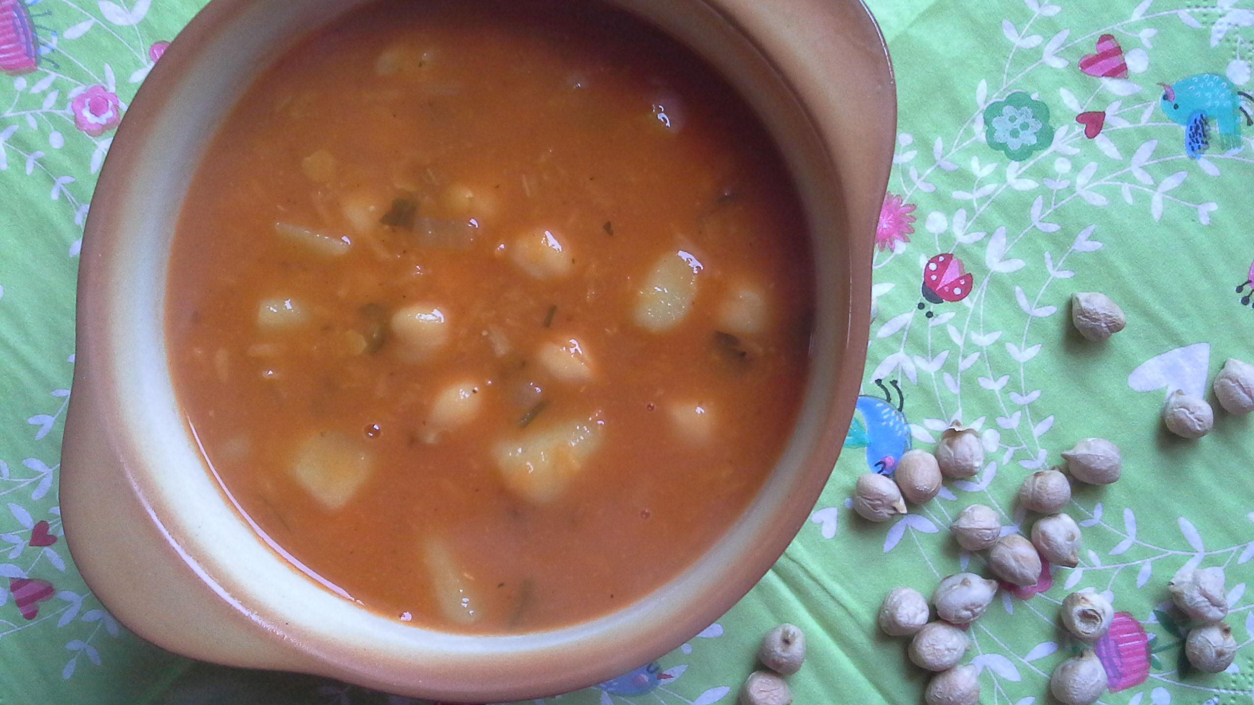 Przepis – zupa z ciecierzycą, soczewicą i ziemniakami